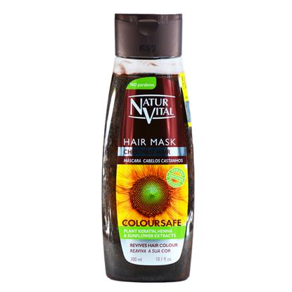 تصویر نچرال ويتال_ماسك ارگانيك محافظ رنگ مو قهوه ايي*