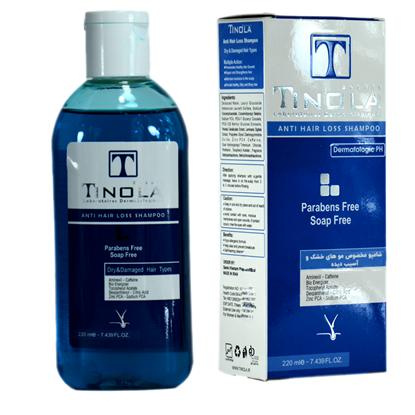 تصویر تينولا_شامپو تقویت کننده مخصوص موهای خشک و آسیب دیده